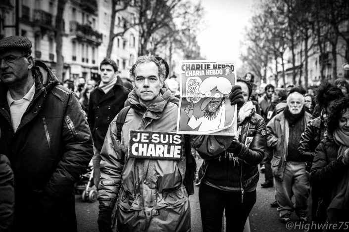 #jesuischarlie-manifestation-paris-attentats-charlie hebdo-reportage-highwire