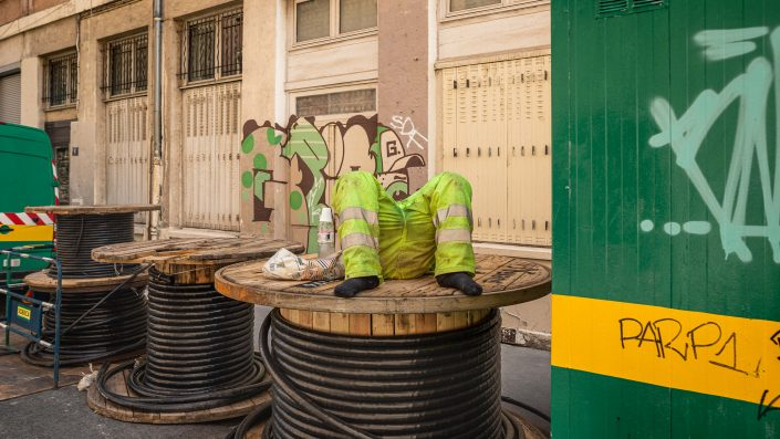 ouvrir-sièste-photographie de rue-lyon-humour-comique-highwire