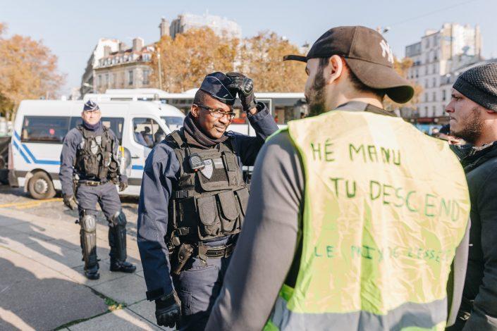 gilets jaunes-reportage-paris-bastille-champs élysées-highwire