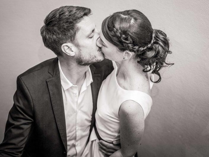 photographe mariage paris haut de gamme chic mariés mairie couple