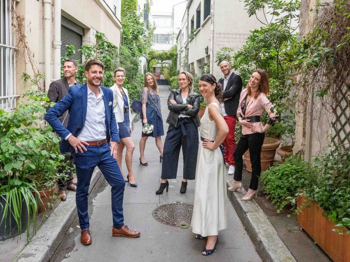 photographe mariage paris haut de gamme chic mariés couple