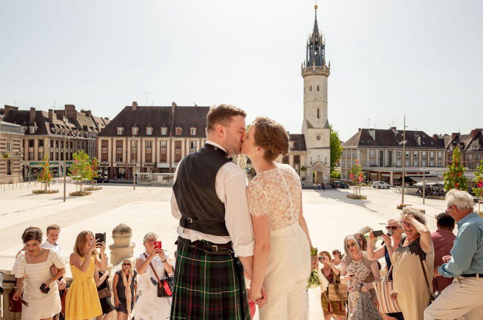 Un mariage à Évreux en Normandie