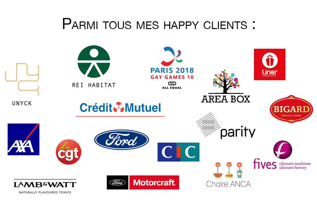 photographe corporate paris clients et enseignes